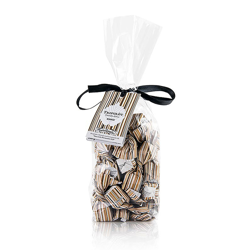 Mini Trüffelpralinen - Dolce d'Alba - Weiße Schokolade