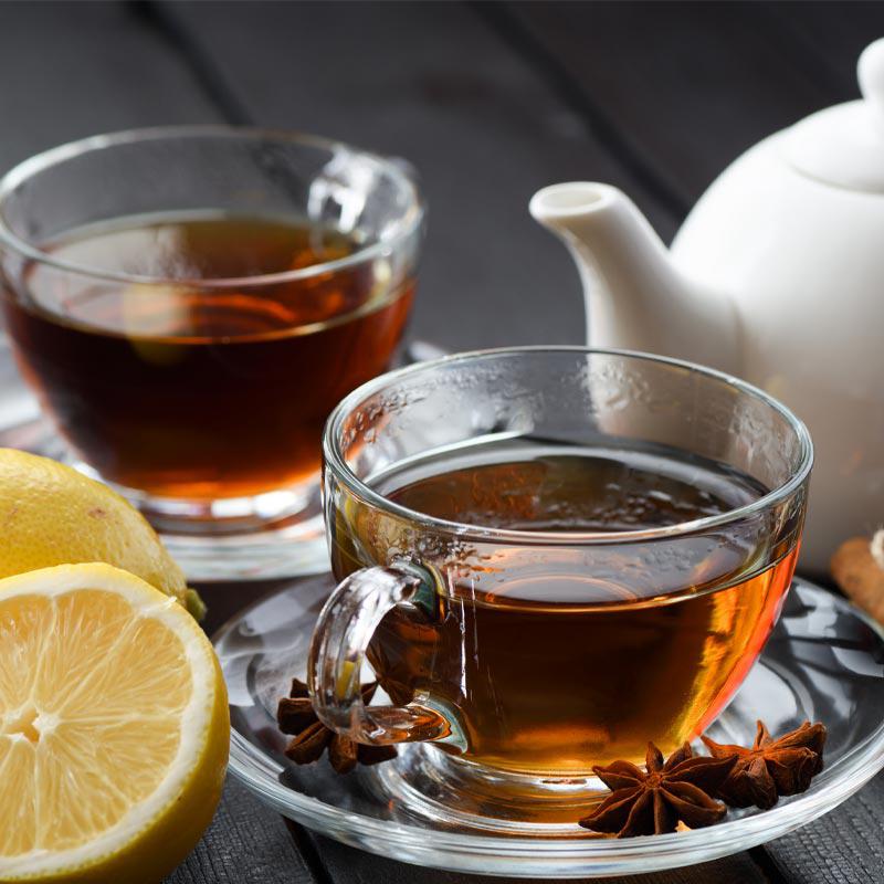 Schwarzer Tee Ceylon-Assam Goldmännchen, 25 Portionsbeutel