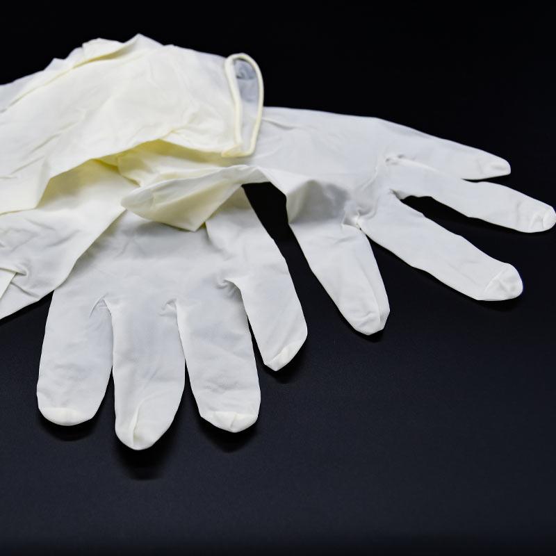 Kleva Latex Einweghandschuhe puderfrei/unsteril Gr. L 100 Stück