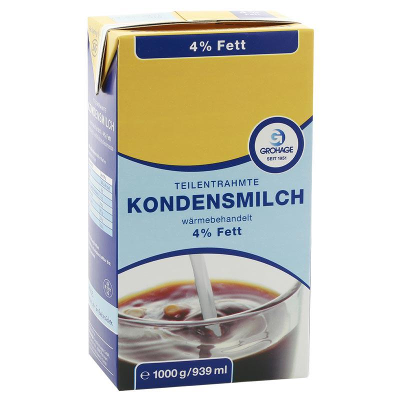 Kondensmilch 4% 1l GH EM
