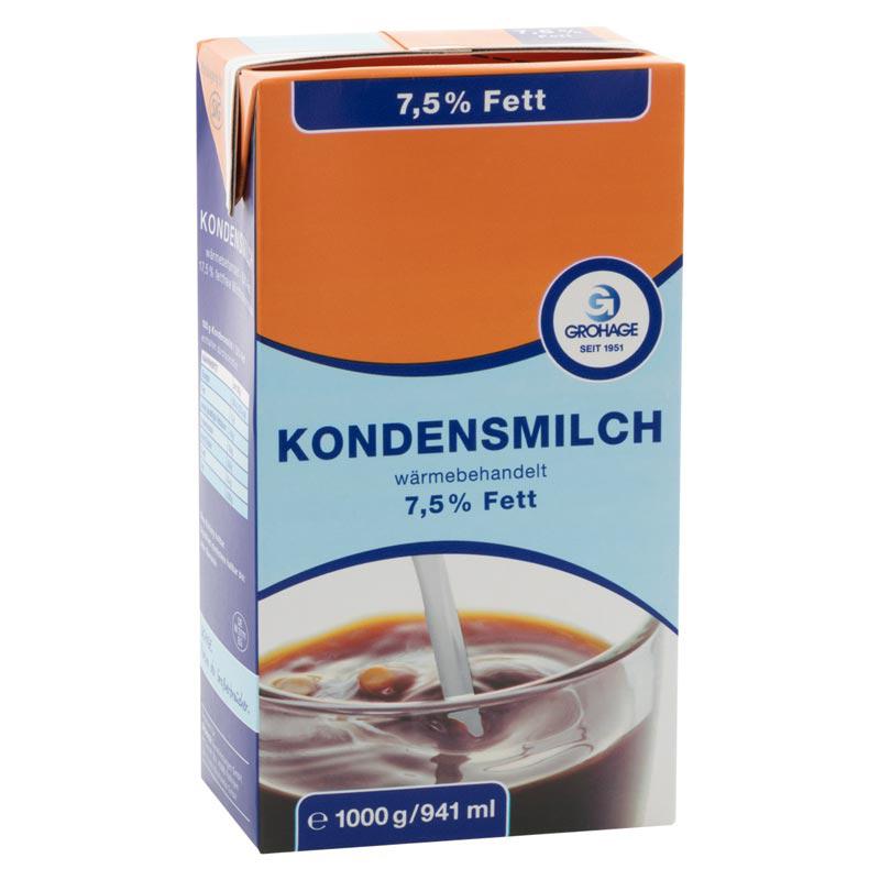 Kondensmilch 7,5% 1l GH EM