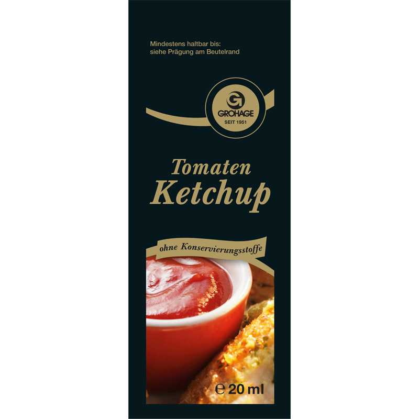 Tomaten-Ketchup Port. 200 x 20ml