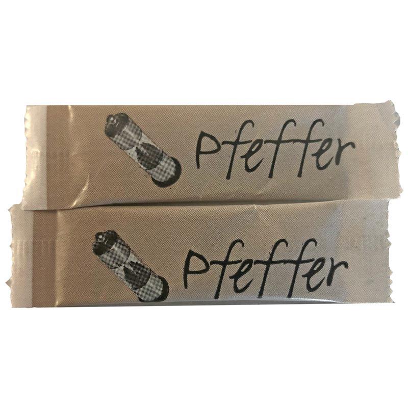 Pfeffer Sticks, 2000 Stück á 0,2g