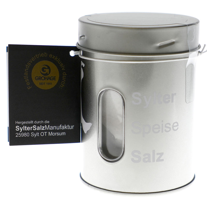 GH Sylter Speisesalz 125 g