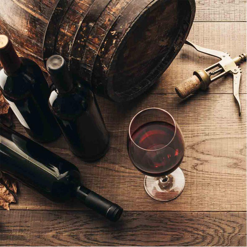 Blutsbruder- Wein, Rot