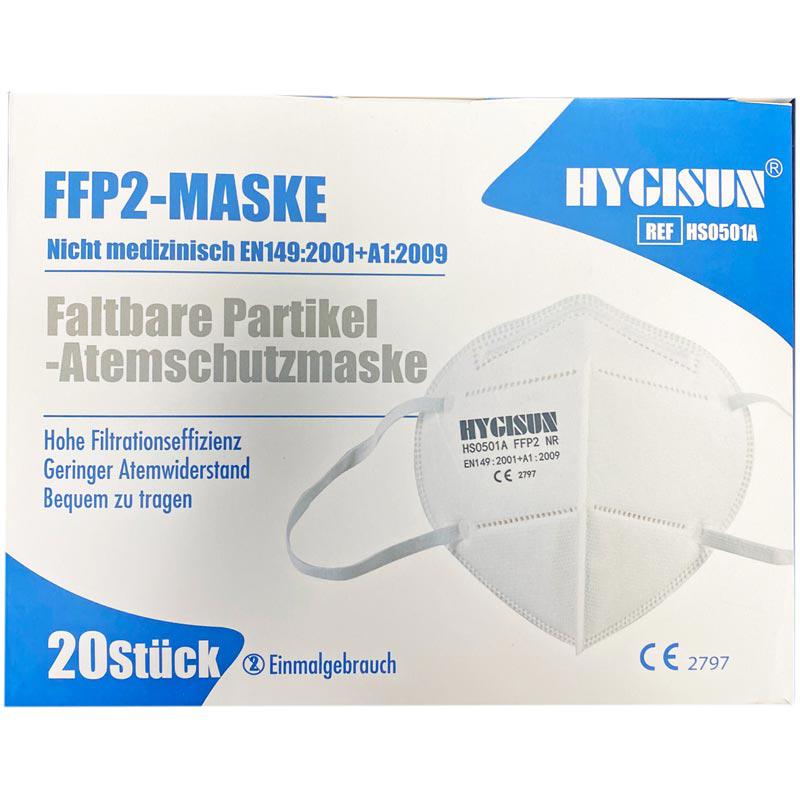 FFP2 Mund-Nasenschutz 3 lagig