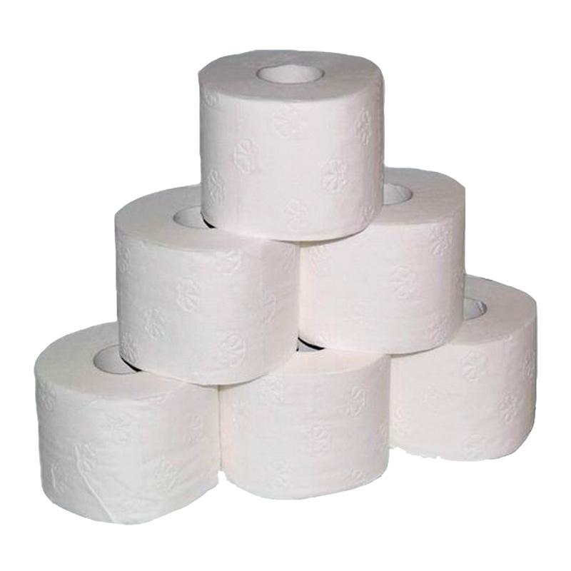 WC-Papier 3-lagig 250 Blatt, 8 Rollen